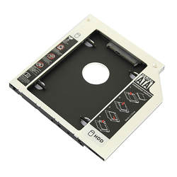 Бесплатная доставка SATA HDD жесткий диск с драйвером адаптер для 12.7 мм универсальный cd/DVD-ROM optibay