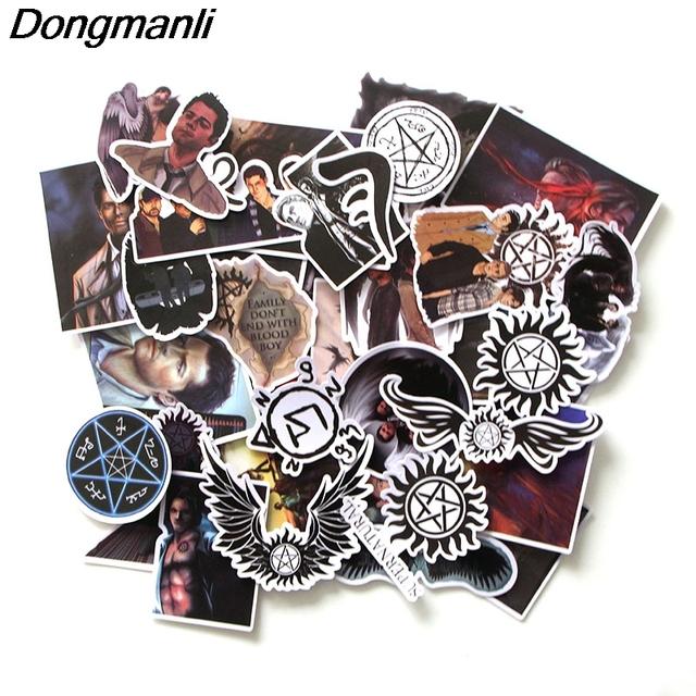 37pcs/set Supernatural  DIY Badge Sticker Accessories