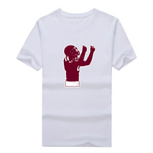 "2017 Fashio Johnny Manziel Texas A & M  Browns ""Money""  T-shirt Tee 100% Cotton T shirt 1119-9"