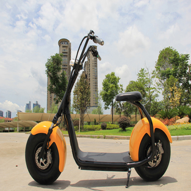 Electric Scooter E-Bike Bicycle Citycoco Lifestyle Fat Tire 1000w Motor 60V 12AH Lithium Battery  With Shock Absorption серьги sokolov 6022055 s