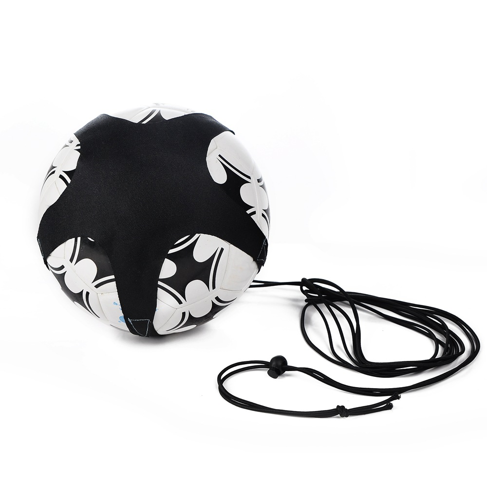 Soccer Ball Juggle Bags  Children Auxiliary Circling Belt Kids Football Training Equipment Kick Solo Soccer Trainer
