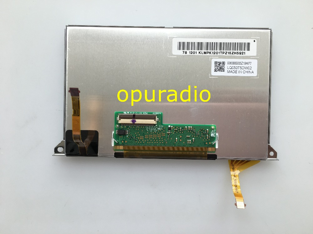 Brand new OEM 5inch LCD display LQ050T5DW02 with touch screen for Chrysler Dodge car DVD GPS