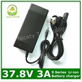 37.8V3A charger  37.8V 3A  lithium battery charger  for  9S lithium battery pack