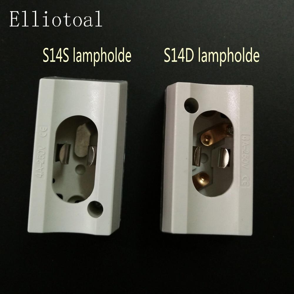 Bases da Lâmpada lampholde led s14d linestra s14s Modelo Número : S14s S14d