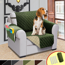 Double Side Chair Sofa Cover Elastic Pet Dog Sofa Covers For Living Room Waterproof Couch Recliner Slipcover Furniture Protector стоимость