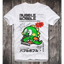 feb389e7233 Amiga Game Gamer Gaming Bubble Bobble Cult Vintage Retro T Shirt Mens Round  Neck Fashion Clothing