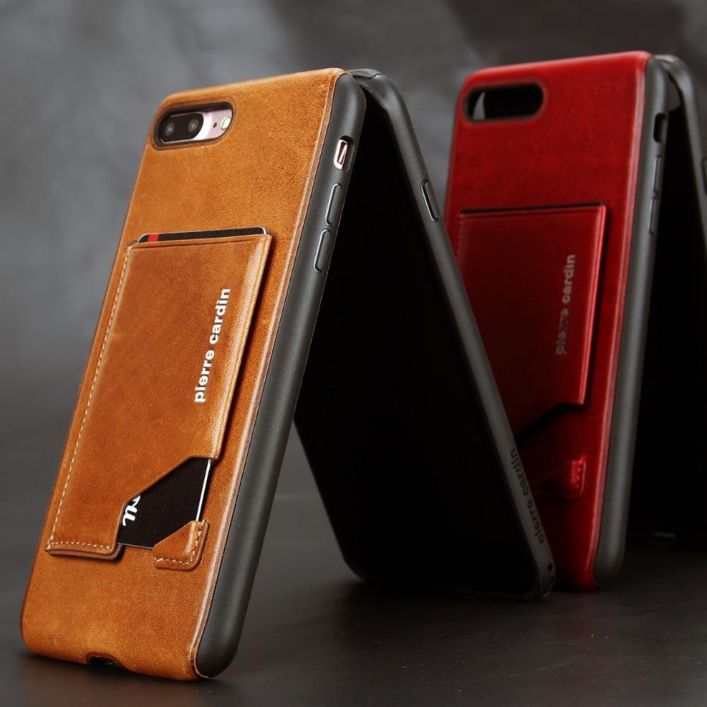 Apple iPhone 7 7 Plus հեռախոսի պատյան Pierre Cardin - Բջջային հեռախոսի պարագաներ և պահեստամասեր - Լուսանկար 4