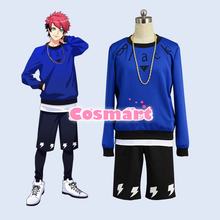 Game A3 Team Summer Figure Nanao Taichi Daily Uniform Tee Pullover Necklace Shorts