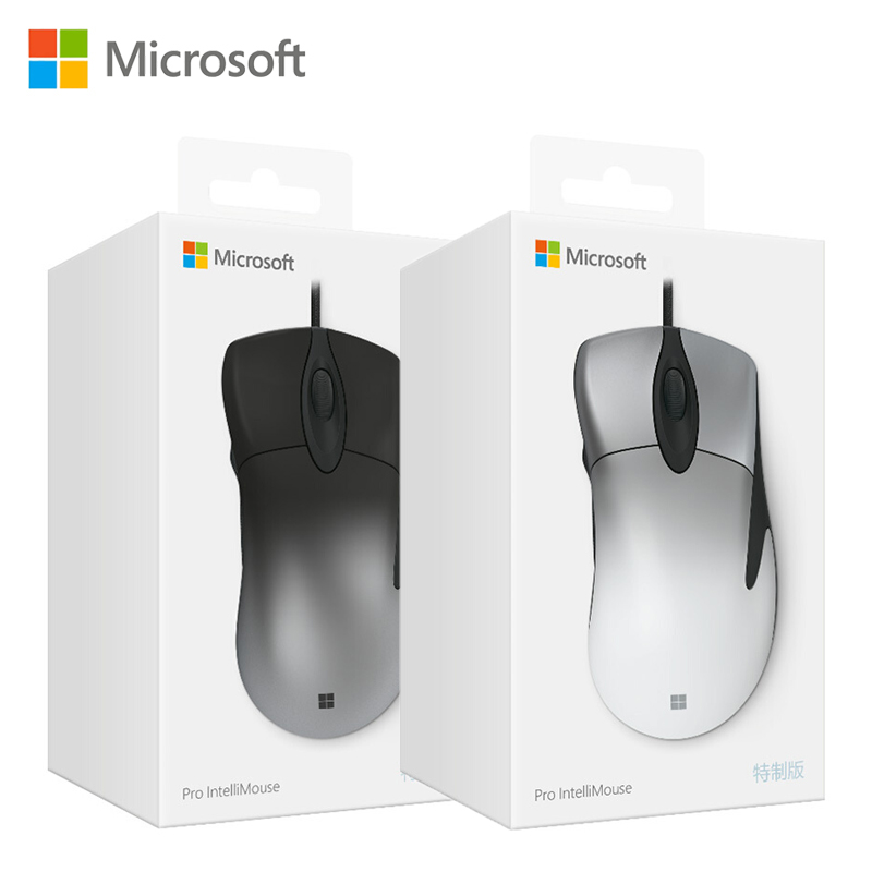 Microsoft Original Pro IntelliMouse mouse with PixArt PAW3389 16000DPI gaming mouse for PC mouse gamer overwatch Starcraft PUBG image
