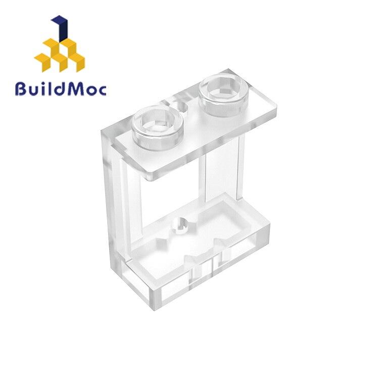 BuildMOC, совместимые сборы, частицы 90195, 1x2x2 для строительных блоков, детали «сделай сам», образовательные детали, игрушки