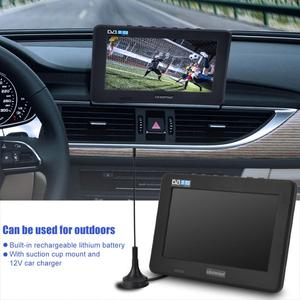 Image 2 - LEADSTAR 7inch DVB T T2 16:9 HD Digital Analog Portable TV Color Television Player for Home Car for EU Plug