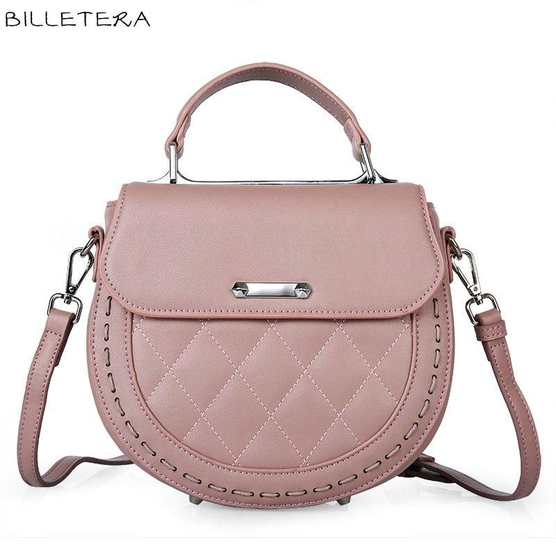 ФОТО BILLETERA Fashion Women Shoulder Bag Genuine Leather Women's Messenger Bag Handbag