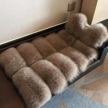 Зимнее теплое пальто из лисьего меха, Модный женский жилет из искусственного меха, пальто из искусственного меха, Толстый жилет из лисьего меха, Colete Feminino, большие размеры, S-4XL, wj1124