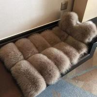 2018 Winter Warm Fashion brand Women Faux Fur Vest Faux Fur Coat Thicker Fox Fur Vest Colete Feminino Plus size S 4XL wj1124
