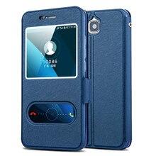 Honor 4C Pro Случае Высокое Качество Вид из Окна PU Кожаный Чехол Для Huawei Honor Y6 Pro #0726