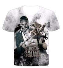 summer season new 3D Print Batman Joker DC Comics Superhero T-Shirt Women Men t-shirt Homme Harley Quinn Carnage Joker Outfits R2372