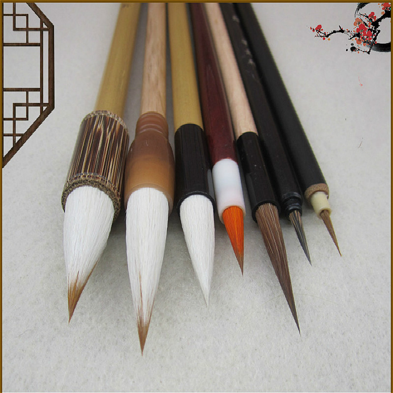 Chinese Traditional Meticulous Painting Writing Brush Artist Painting Writing Drawing Brush Suitable for Students Painting traditional chinese water lily painting pattern square shape pillowcase