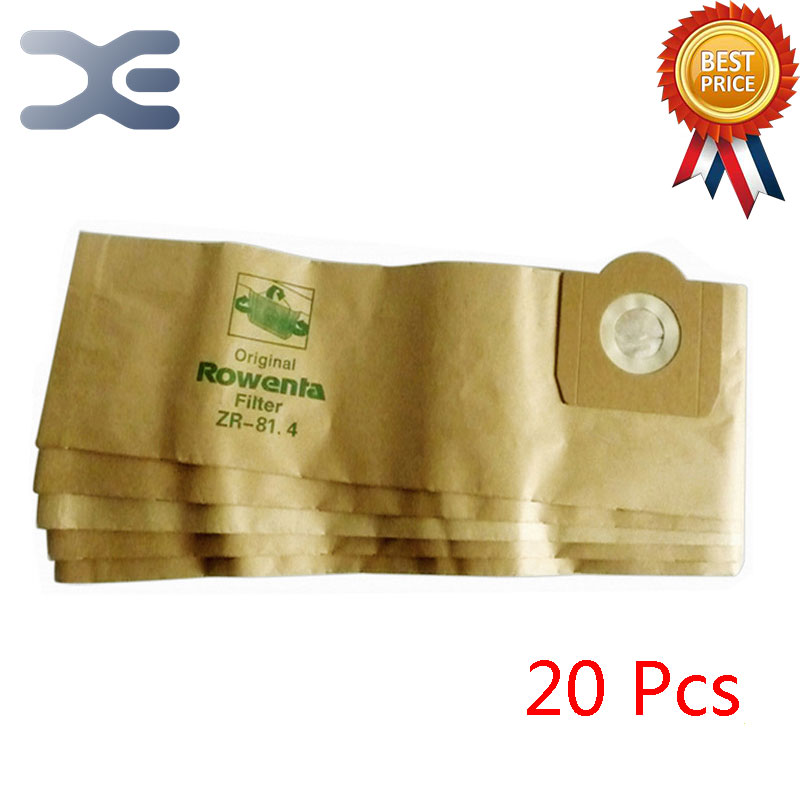 20Pcs High Quality Vacuum Cleaner Accessories Dust Bag Dust Garbage Paper Bag ZR814 / RU100 / RB880 / 820 50pcs high quality adaptation sanyo chunhua vacuum cleaner accessories dust bag garbage paper bag xtw 80 zw80 936