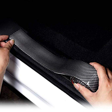 Universal Door Guard Bumper Rubber Protector Front Rear Door Entry Sill Guard Scuff Plate For Most Cars 100% Waterproof DB006