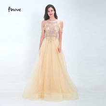 Finove Prom Dress Long 2019 In Women'Dresses Chic Halter