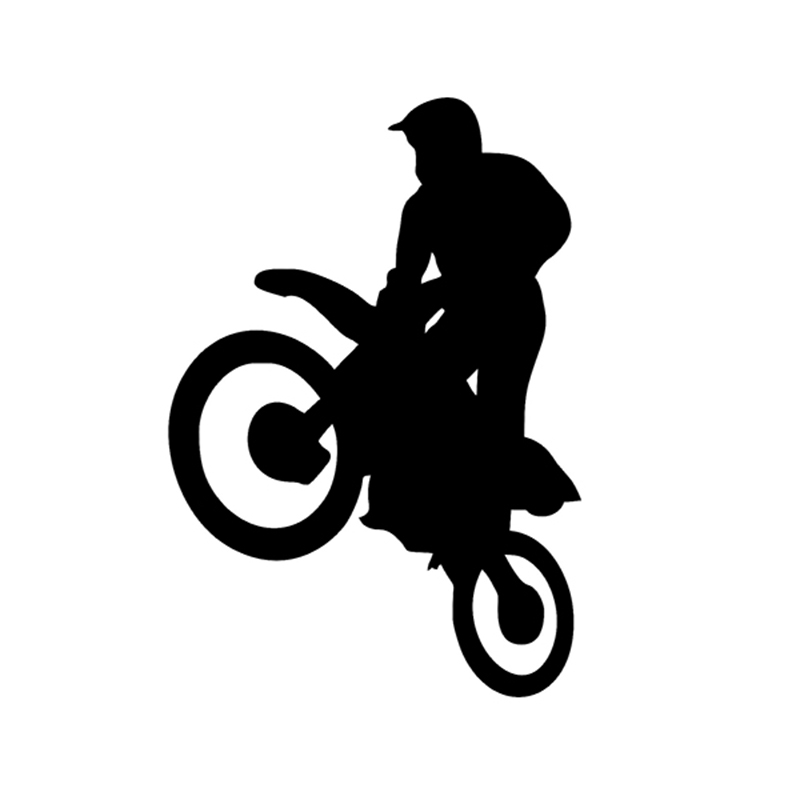 Sport Freestyle Motocross Bike Decal Vinyl Sticker Wall Window Truck Bumper