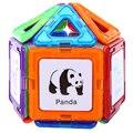 Hot niños educativos diy bloques de construcción juguetes de los ladrillos niños mágico imán cerebro tratador sets kits de aprendizaje temprano juguetes juego