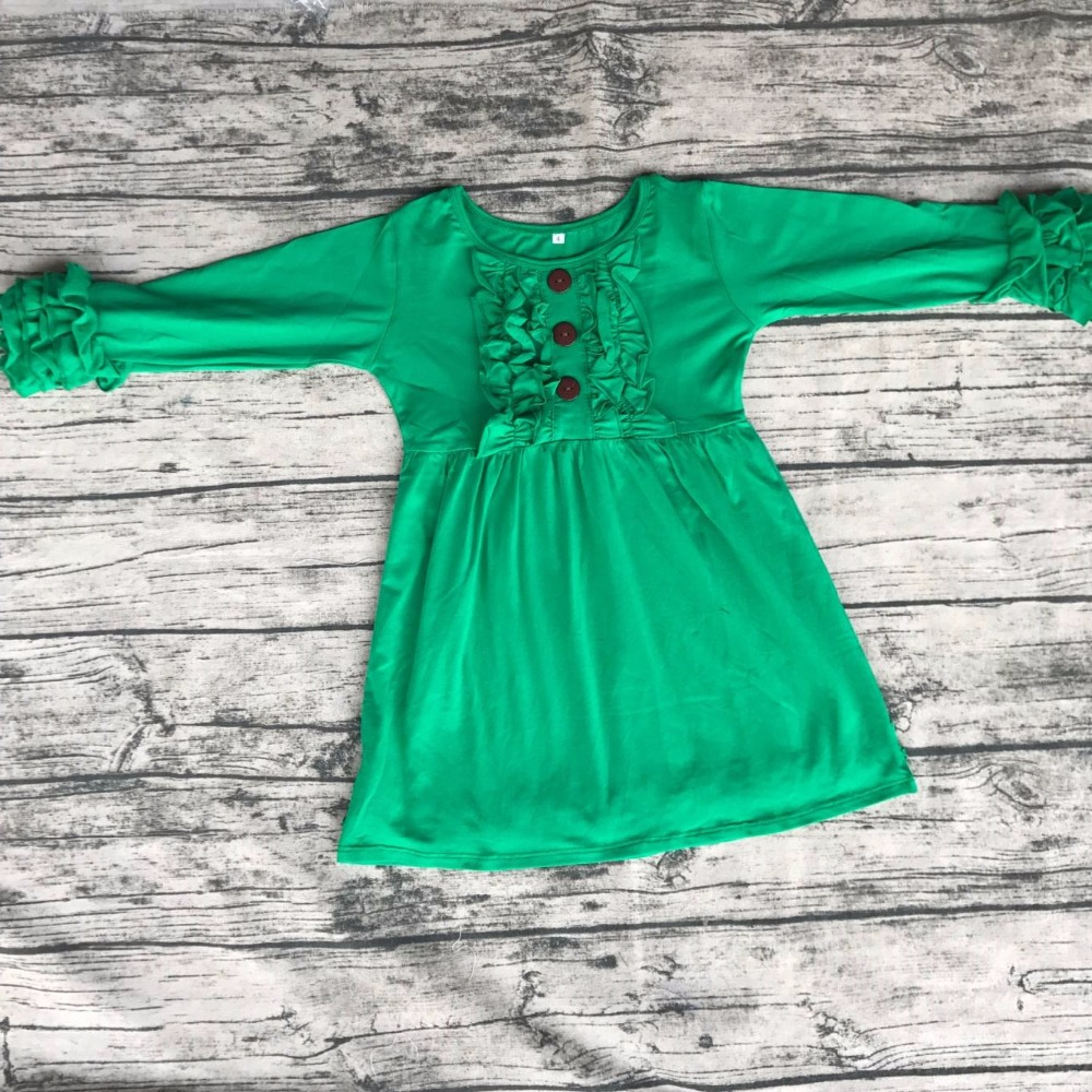 Wholesale kid chest Ruffle Party Dresses Baby Girl Clothing Fashion ...