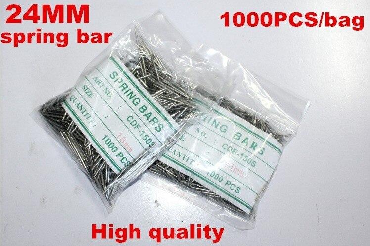Wholesale 1000PCS / bag High quality watch repair tools & kits 24MM spring bar watch repair parts