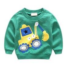 2017 New Autumn Spring Baby Cartoon Sweatshirt Boy And Girl Cotton Hoodies 2 3 4 6 8 9 Years Boys Hoodie