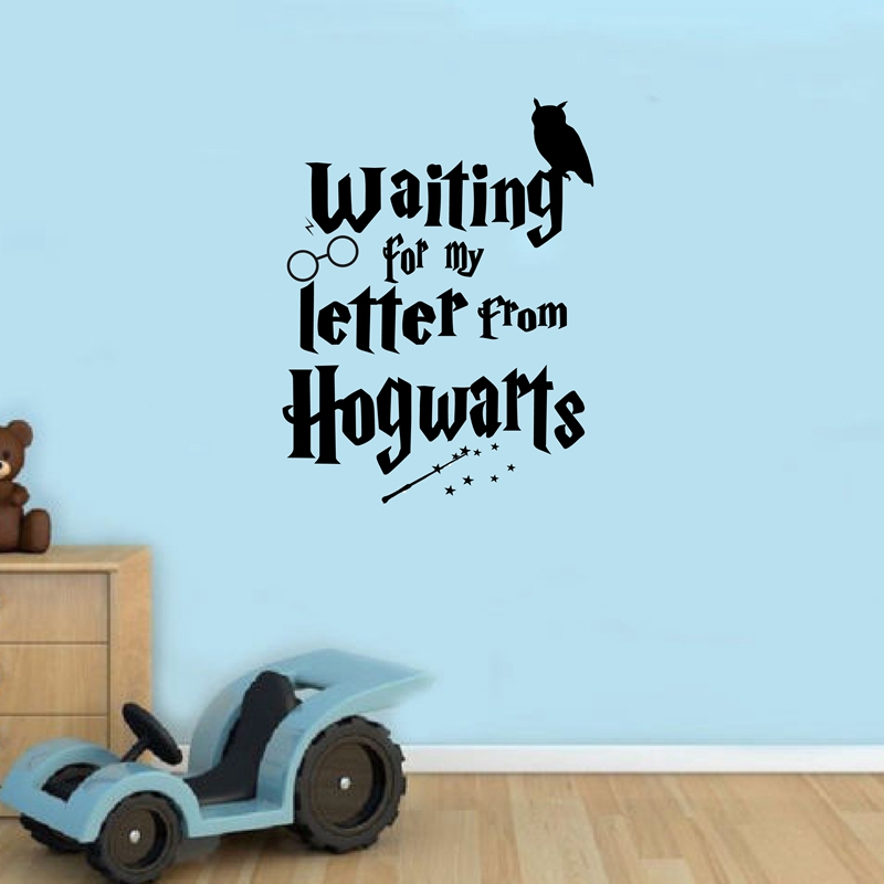 Custom Vinyl Decal Wall Sticker Wizard In Training Sticker Harry - Wall decals harry potter