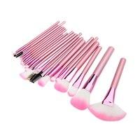 Frau Rosa 22 Stücke Bilden Werkzeuge Professionelle Superior-weiche Kosmetik Pinsel Set Kit + Tasche Tasche
