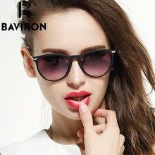 BAVIRON Scrub Frame Sunglasses Women Lightweight Mirrored Glasses Cat Eye Colorful Plastic Eyewear Super Discount Gafas 88286