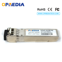 лучшая цена Cis.co compatible 10GBASE-DWDM SFP+ transceiver,10G 80KM C-BAND 1563.86nm~1528.77nm optical module