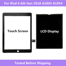 Dla ipad 6 6th Gen 2018 A1893 A1954 ekran dotykowy panel digitizera/ekran LCD dla ipad Pro 9.7 2018 A1893 A1954