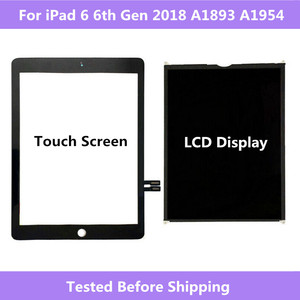 For iPad 6 6th Gen 2018 A1893 A1954 Touch Screen Digitizer panel / LCD Display Screen For ipad Pro 9.7 2018 A1893 A1954(China)
