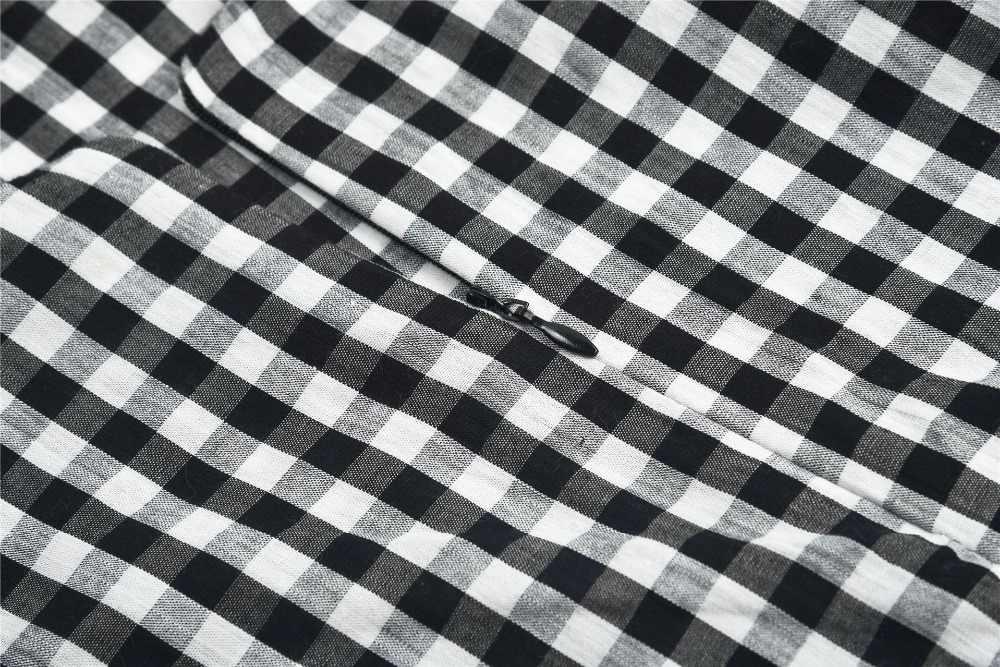 сарафан женский летний 2019 клетчатое платье с открытой спиной платья больших размеров одежда для женщин летние платья и сарафаны платье на тонких бретельках короткое платье с бантом 796