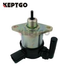 12V Fuel Shut Off Solenóide Parar Para Kubota Motor V3300/V3600 +/V2203/V1505, 1C010 60015, 1C010 60017, 1C010 60014