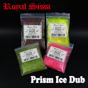 5bags/set super fine Prism ice dub Fly Tying Dubbing material Synthetic Sparkle Dubbing Fiber for Nymph Scud salmon trout flies цена 2017