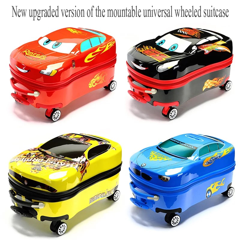2018 New Kid s Anime Trolley Suitcase Travel Bag on Wheels Children Cartoon Rolling Luggage bag