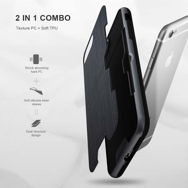 huge discount e98bb 4bd8b FLOVEME Card Slot Phone Case For iPhone 7 Luxury Wallet Mobile Accessories  For iPhone 8 6 6s 7 Plus Cases For iPhone X XS MAX XR