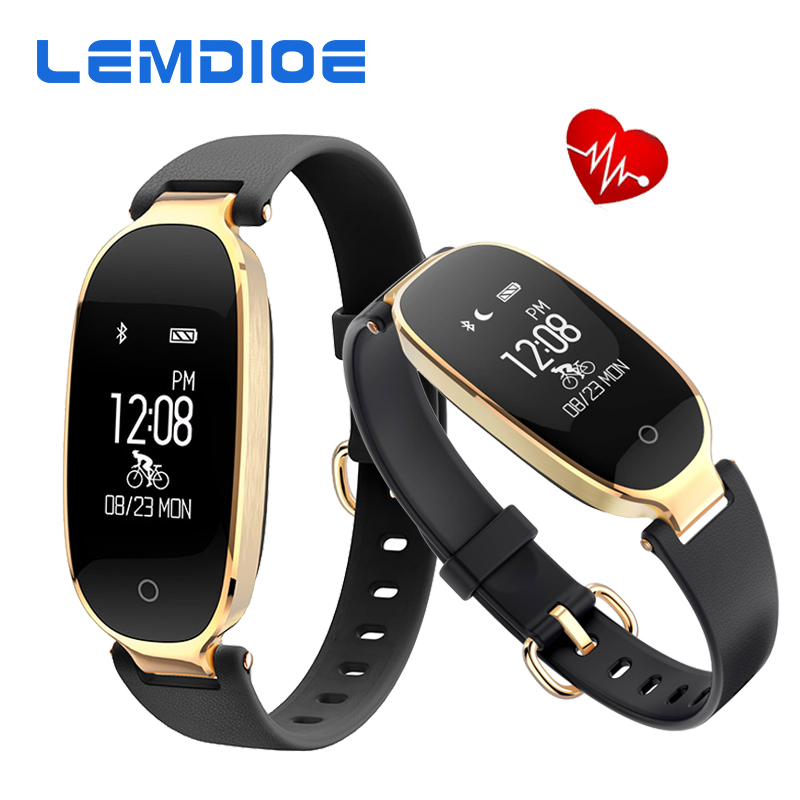 Lemdioe S3 <font><b>Bluetooth</b></font> <font><b>smart</b></font> Сердечного Ритма Смарт-браслет пульт дистанционного управления камерой GPS SmartBand Фитнес браслет для iOS и Android