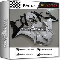 Pearl White Aftermarket OEM Fitment Motorbike Bodywork For Yamaha R1 04 05 06 Year Complete Fairings