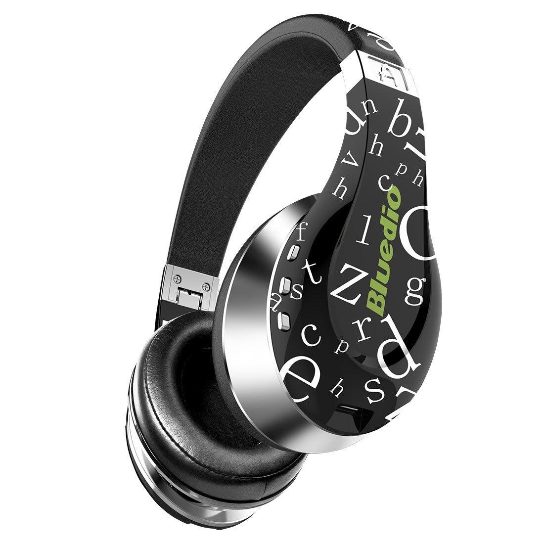 Bluedio A (Air) élégant casque sans fil Bluetooth avec micro (noir) - 4