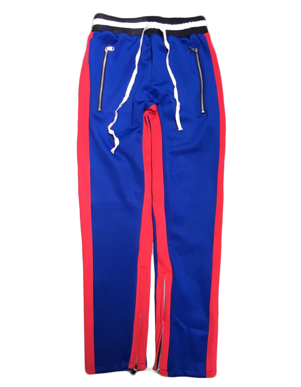 H.A. Sueno 2017 new men track pants hip hop mens pants with zippers popular panelled soft trousers high street wear