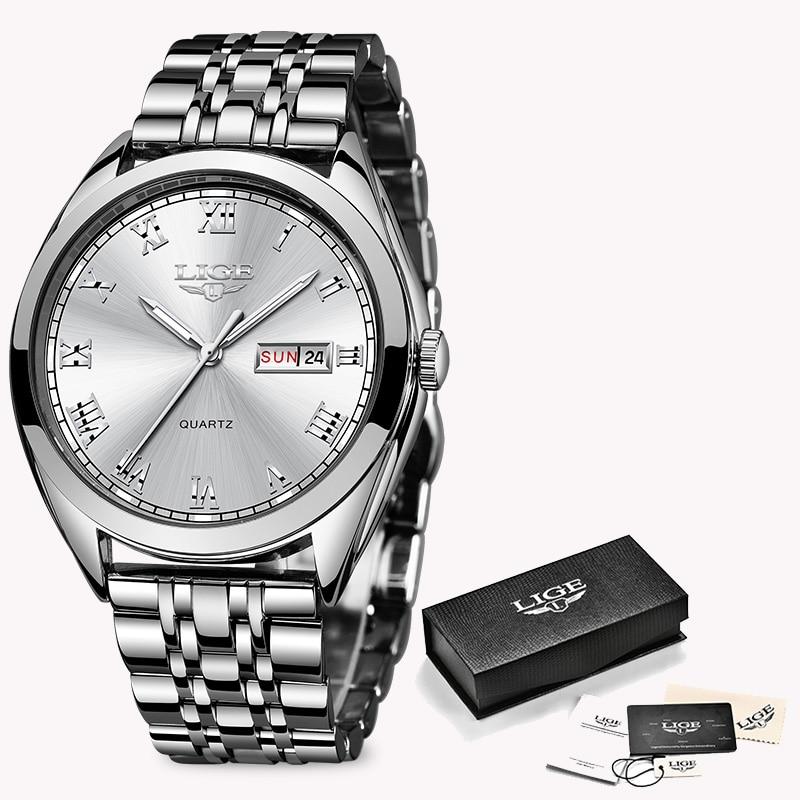Silver white S