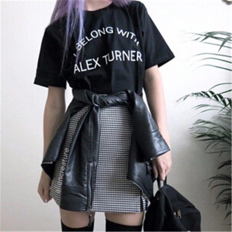 Arctic Monkeys Vocals Alex Turner T Shirt Street Style Rock Tshirt Harajuku Fashion Clothing