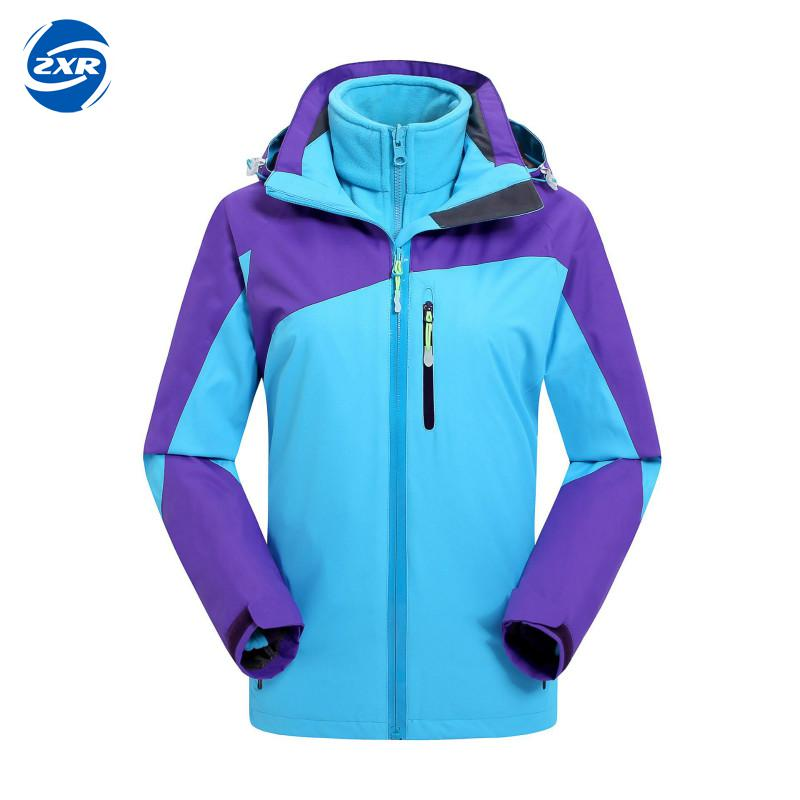 Women Waterproof Jackets Soft Shell Removable Hat Outdoor Sport Clothing Camping Trekking Hiking Female Bike Ski Jacket Hot Sale camouflage soft shell woman winter ski jackets outdoor waterproof skiing and skateboard clothing for women 2017 new hot sale