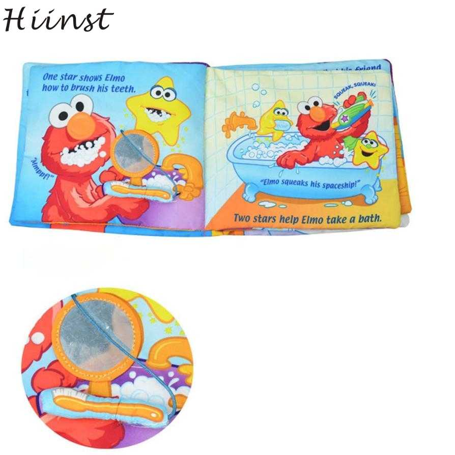 HIINST Picture Cognize Book Of Twinkle, Twinkle, Elmo! New Soft Cloth Baby Intelligence Development Learn Hot Sell Drop Ship S20
