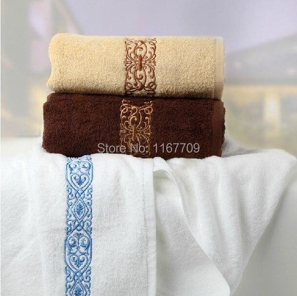 Spa Quality Towels: High Quality Embroidery Bath Towel Brand Sports/ Surf /Gym