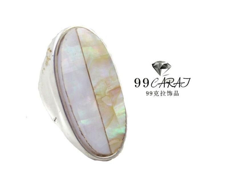 41db1e52f145 99 quilates joyería de moda vendedor caliente Conchas Anillos para las  mujeres